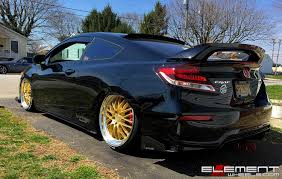 20 inch Ace Alloy SL-M on 2015 Honda Civic Si Coupe w/ Specs Wheels