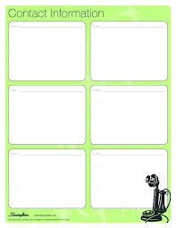 Business Phone List Template Vitaesalute Co