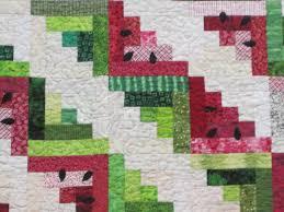 watermelon quilt- cuz i love watermelon! | Quilts | Pinterest ... & watermelon quilt- cuz i love watermelon! Adamdwight.com