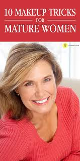 when you turn over 50 you need to know the right makeup application so as look younger learn the tips on makeup for women that