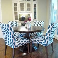 furniture good looking blue fabric dining chairs 22 room leather fancy blue fabric dining chairs 11