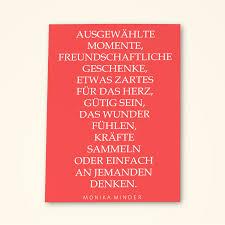 Grusskarten Set Mit Spruch Ausgewählte Momente Von Monika Minder