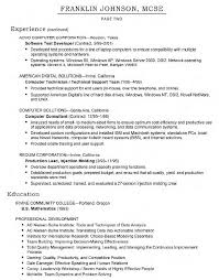 Resume Systems Administrator Resume Examples Best Inspiration For
