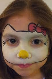 image result for simple face paintings