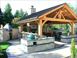 outdoor kitchen cost to build built in grill a of building extension ireland kit