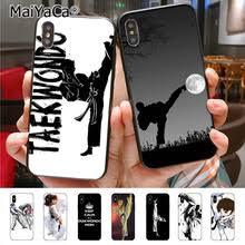 Милый <b>чехол для телефона</b> MaiYaCa <b>sport</b> taekwondo для iphone ...
