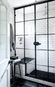 shower doors glass types framed shower enclosures rely on a metal skeleton to support the surrounding glass typically utilizing thinner glass measuring 1 8
