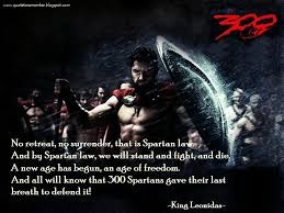 Spartan Quotes Interesting Quote To Remember 48 [48]