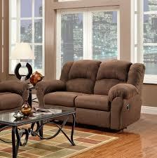 Double Rocker Recliner Loveseat Amazoncom Roundhill Furniture Aruba Microfiber Dual Reclining