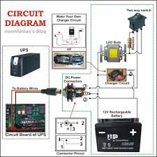 circuit diagram of w led bulb images hack a old dead pc power supply and ups into a emergency rechargeable