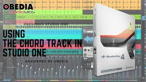 Studio One Comparison Chart Studio One 4 How To Use The Chord Track