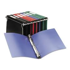 Avery Hanging Storage Flexible Non View Binder With Round