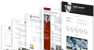 Visual Cv Builder Create A Stunning Online Cv In Minutes