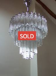 both the glass and frame are in well red vintage condition and as with all our chandeliers it has been completely rewired to modern standards