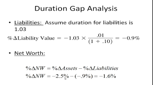 Managing Interest Rate Risk - Duration Gap Analysis - Youtube