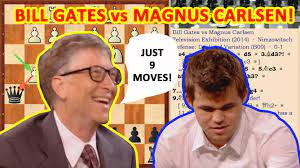 Hysterical chess game: Bill Gates vs Magnus Carlsen! - Chess.com