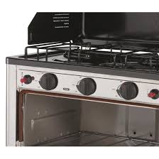 Oven Gas Stove Stansport Outdoor Propane Gas Stove And Camp Oven Stainless Steel