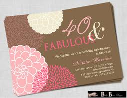 sle birthday invitation card templates s on funny th cards for 40th free