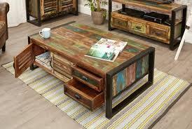 mobel oak wall rack cor07b. Urban Chic 4 Door Drawers Large Coffee Table IRF08B Mobel Oak Wall Rack Cor07b