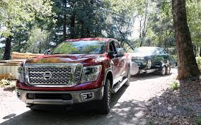 2016 Nissan Titan Xd Towing With The 5 8 Ton Truck