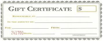 gift certificate for business free printable business gift certificate templates save template