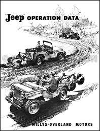 1946 1955 willys jeep cj repair shop manual original cj 2a cj 3a cj related products