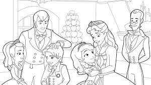 Small Picture Disney Junior Coloring Pages Sofia The First Coloring Pages
