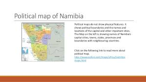 types of maps namibia What Do Political Maps Show political map of namibia political maps do not show what do political maps show us