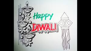 Diwali Speacial How To Draw Lanterns And Diyaas