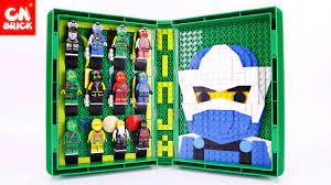 LEGO NINJAGO SETS MASTERS OF SPINJITZU BOOK JLB3D147 Unofficial lego -  YouTube