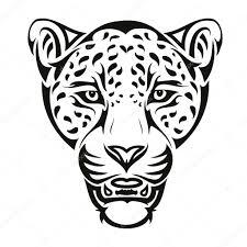 татуировка ягуар тату ягуар векторное изображение Ipetrovic