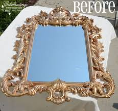 mirror paint. {turquoise mirror and antique chest makeover} painting with annie sloan chalk paint, paint a