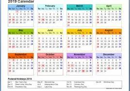 Calendar 2019 Printable With Holidays Calendar 2019 Printable With Malaysia Holidays With Printable