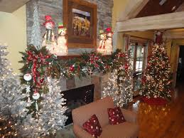 Wall Xmas Decorations Decorations Simple Decoration Fireplace Mantel Ideas With