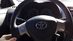 2010 Toyota Corolla S - Steering Wheel Off Center To Left - EPS ...