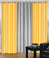 ... Mesmerizing Gray And Yellow Minimalist Satin Gray And Yellow Curtains  Swing Ideas: Amazing ...