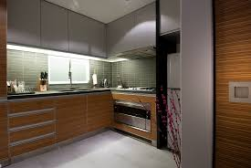 Wooden Kitchen Modern Wood Kitchen Ideas With Wooden Kitchen Grey Tiles Overhead