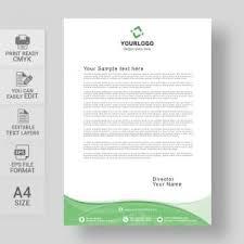Letterhead Designs Templates Letterhead Vector Template Free Download Print Ready Wisxi Com