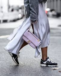 chanel sneakers. chanel pink bag \u0026 sneaker sneakers