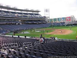 Nationals Baseball Seating Chart Washington Nationals Nationals Park Seating Chart