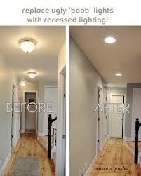 recessed lighting header