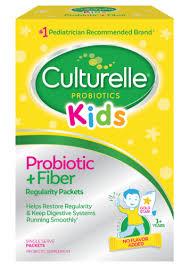 Culturelle® <b>Kids</b> Probiotic + <b>Fiber</b>