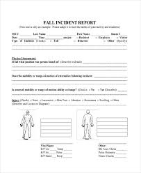 Basic Incident Report Template Incident Report Template Microsoft Nfljerseysweb Com