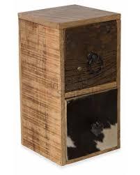 pressed metal furniture. Mango \u0026 Recycled Wood Cow Hide And Pressed Metal 2 Drawer Free Standing Wall Mountable Storage Unit Furniture