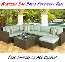 Patio Furniture Memorial Day Sale at FurnitureForPatio