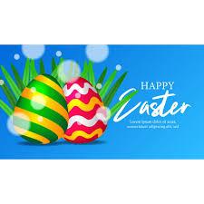 colorful 3d realistic egg decoration