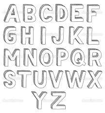 Bubble Letter Designs Image Result For Bubble Letters With Shadows Drawing