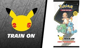 Pokemon 25th Anniversary cards 'Train On: First Partner Pack' release date  revealed