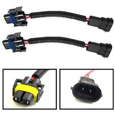 h11 h8 h9 extension wiring harness sockets wire for headlights or image is loading h11 h8 h9 extension wiring harness sockets wire
