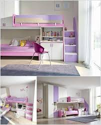 bunk beds for girls with storage. Brilliant With 1 A Cute Girlsu0027 Bunk Bed With A Wardrobe And Desk Intended Beds For Girls With Storage U